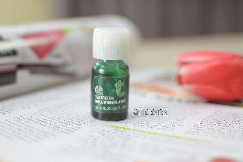 """Review"" Tea Tree Oil của the body shop"